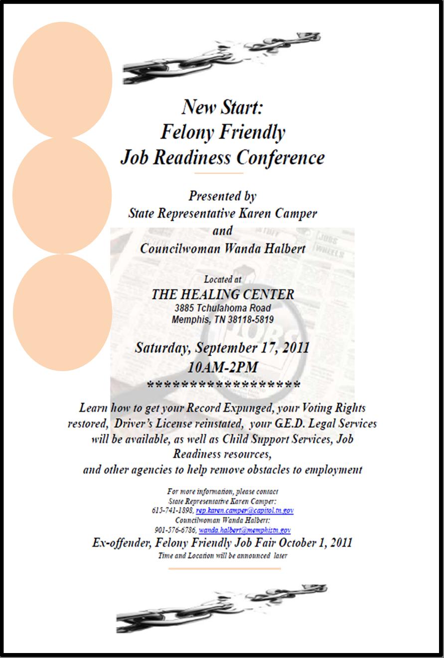 felony friendly conference 9  17  u0026 job fair 10  1
