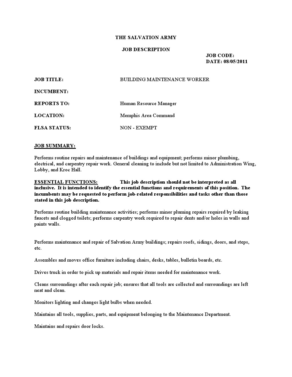 resume for maintenance worker resume occupationalexamples building maintenance worker resume resume for maintenance worker 3105