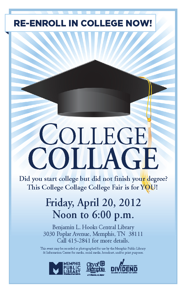 college collage job career news from the memphis public libraries