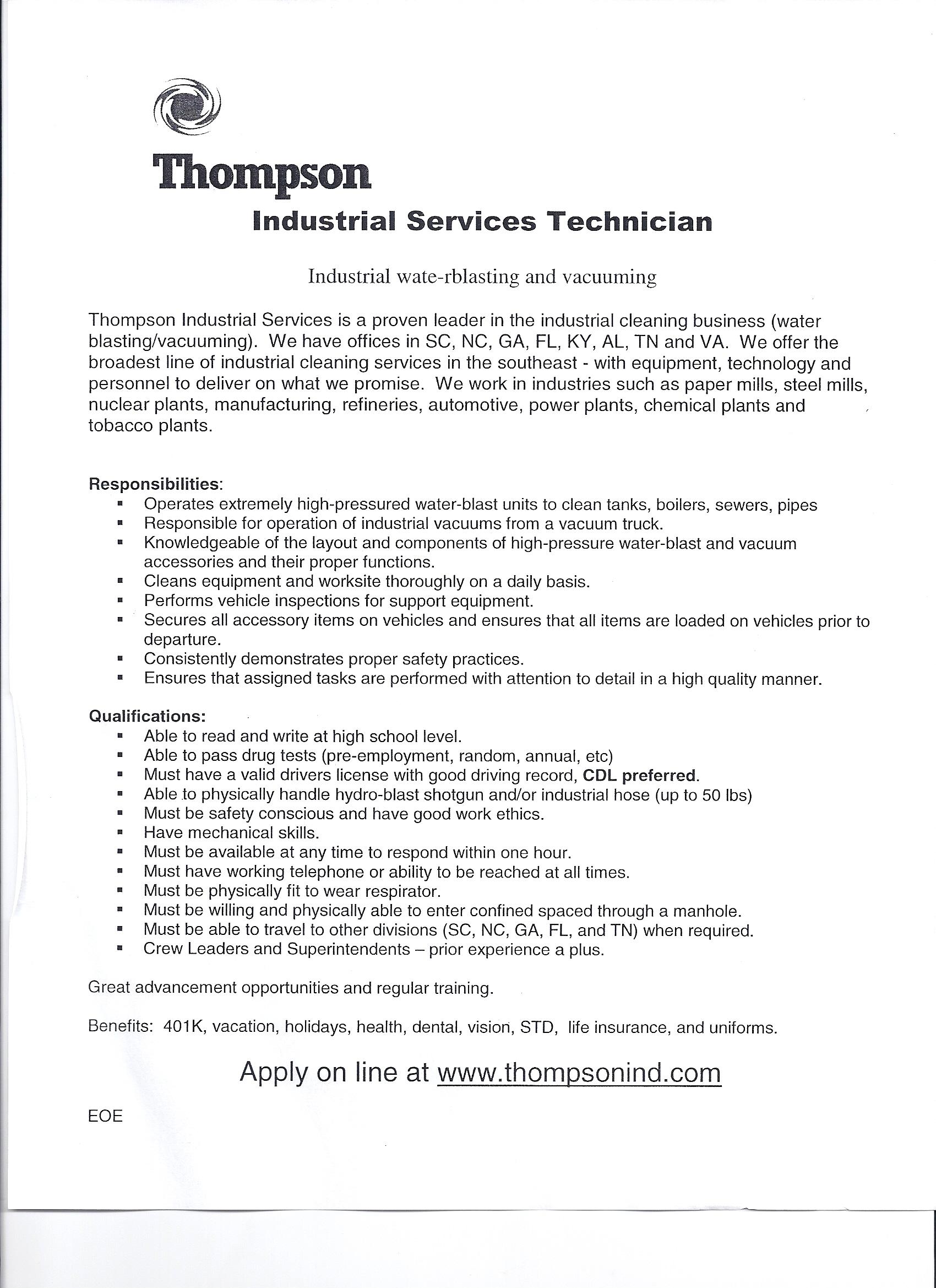resume for bindery worker