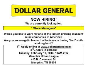 Dollar General Job Fair at Memphis Urban League Flyer 020413 (2)_1