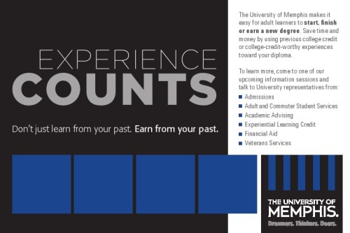 experience counts  u of m