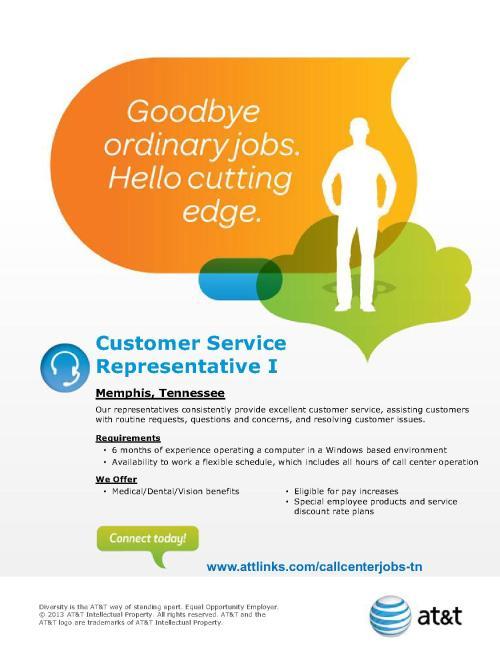 AT&T Customer Service Representative I Flyer III (Memphis, TN)_1