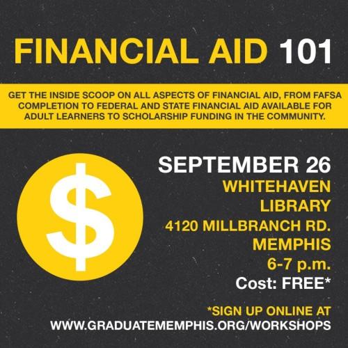 Graduate Memphis Fin Aid Whitehaven