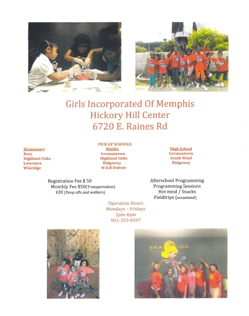 Girls Inc Hickory Hill