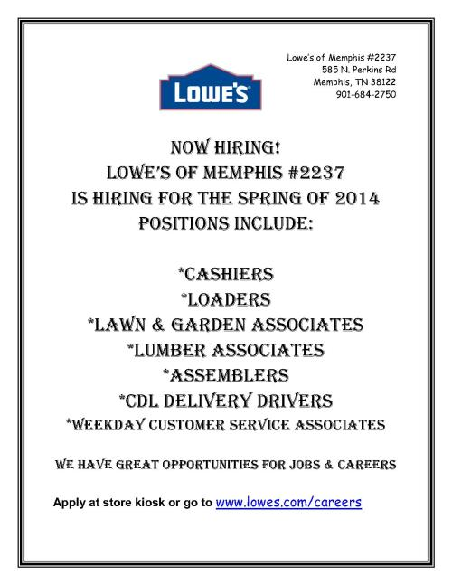 Lowes 2014 hiring Flyer_1