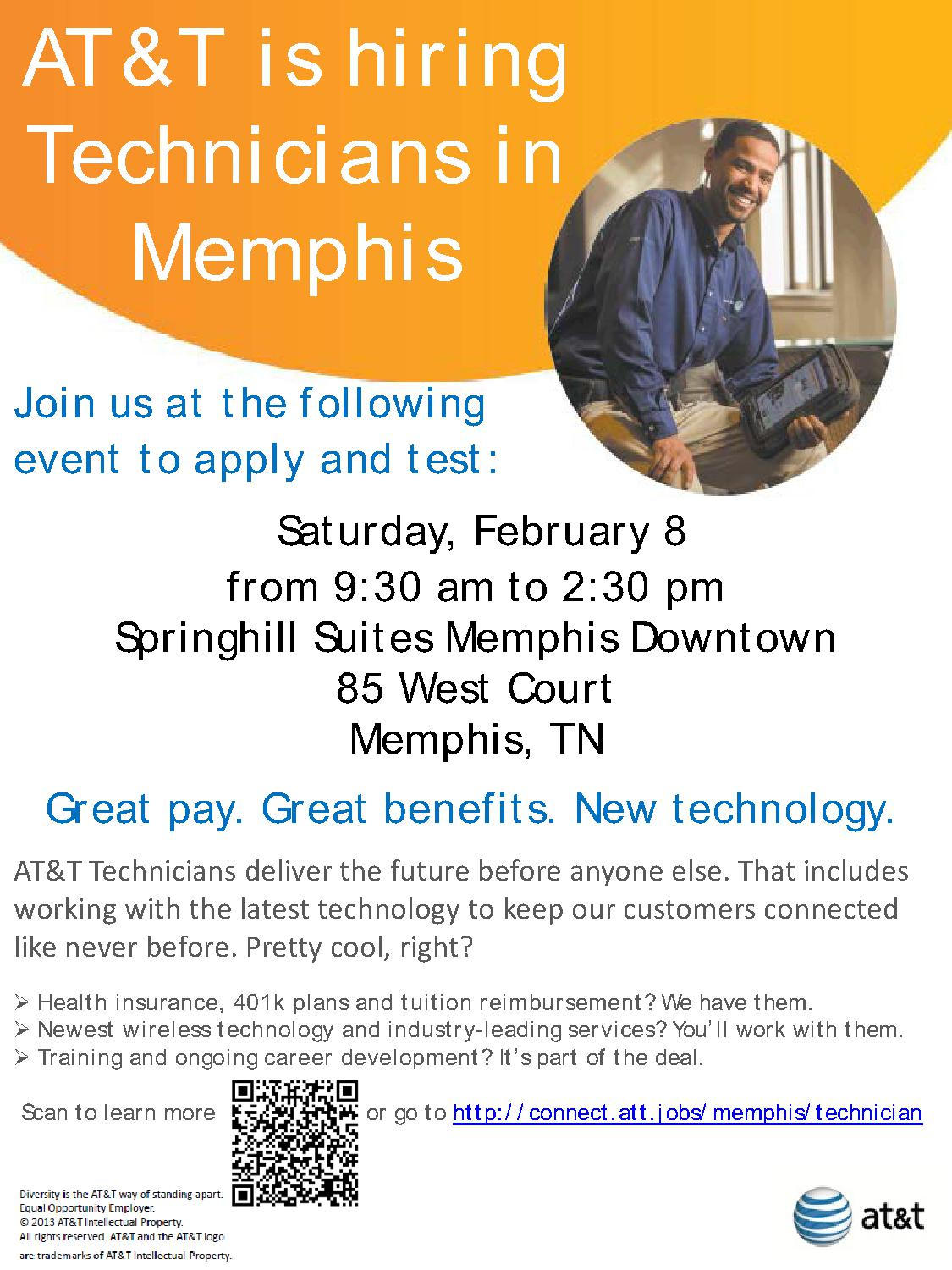 AT&T | Job & Career News from the Memphis Public Libraries