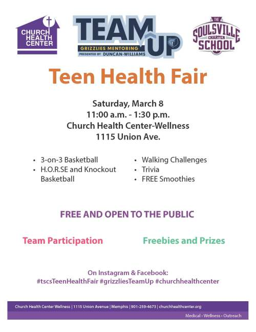 Grizzlies Teen Fair