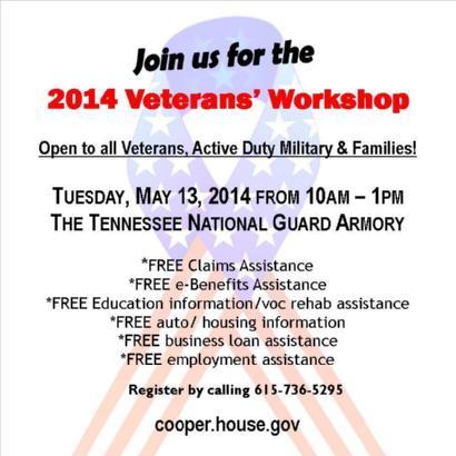 2014 Veterans workshop 5-13-14