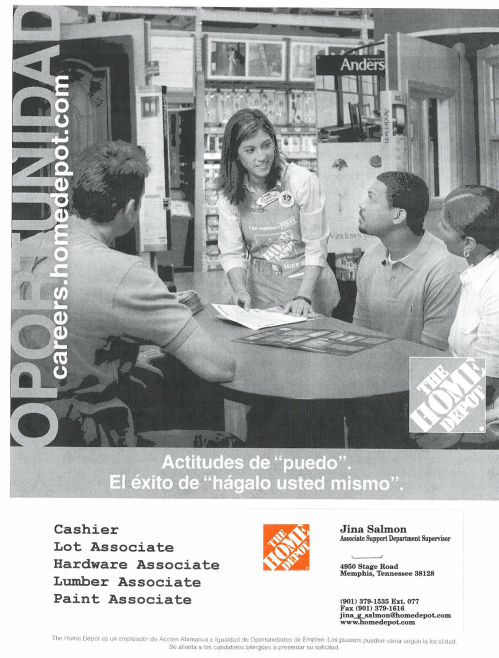 Home Depot Stage Rd Job Career News From The Memphis Public