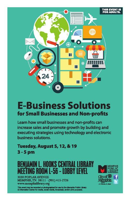 E-Business Solutions - flyerposter_1