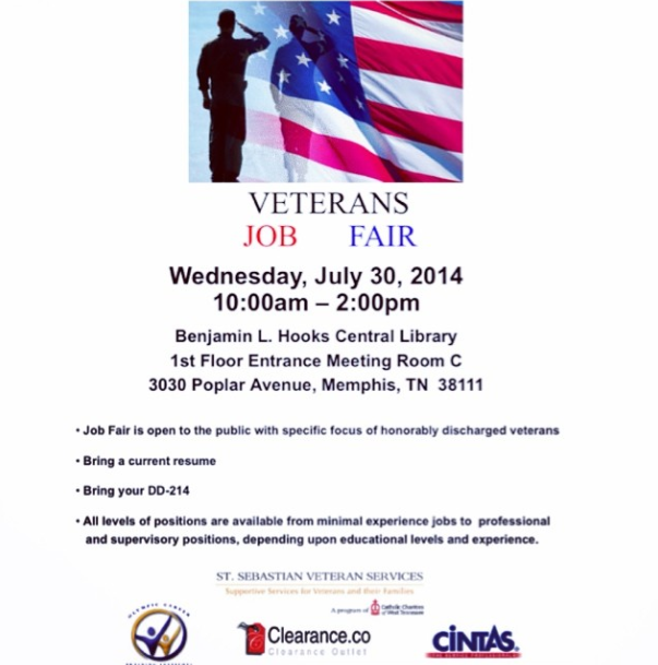 Vet Job Fair 7-30-14