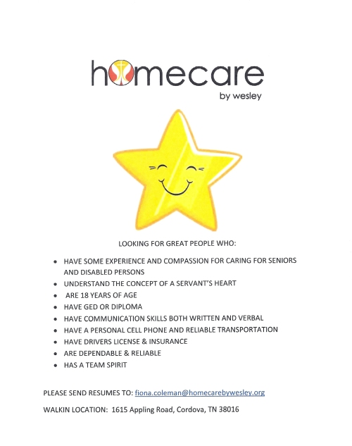 homecare by wesley