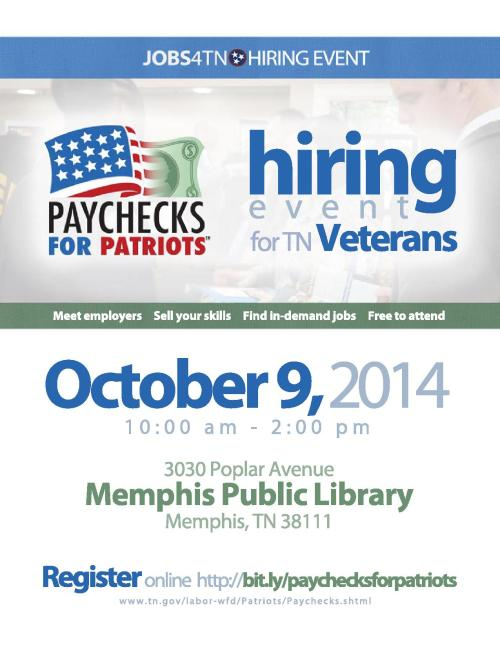 Paychecks for Patriots Flyer - Memphis_1