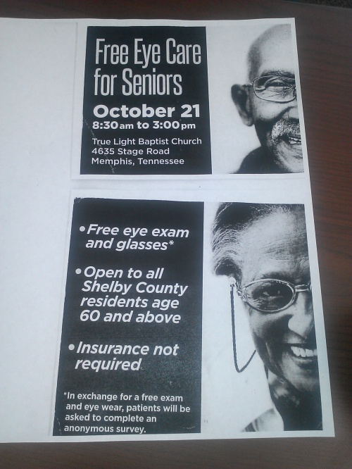 Free Eye Care - True Light -10-21-14