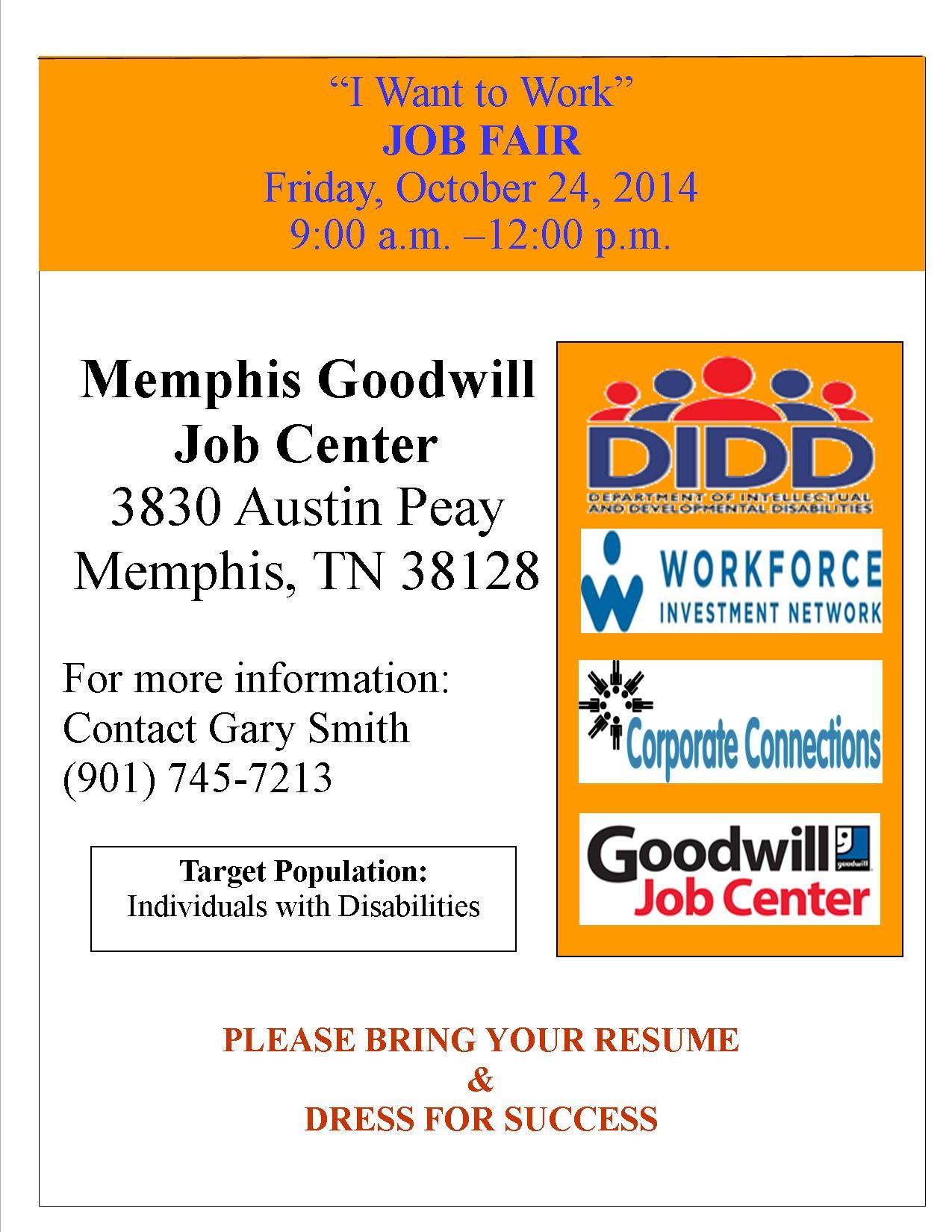 Job Fair Individuals With
