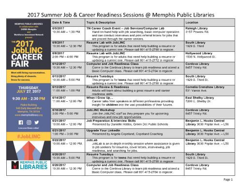 Summer 2017 Job and Career Sessions - MPL_1