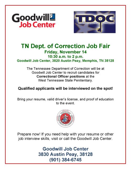 TN-Correction-flyer-11_14-job-fair-goodwill