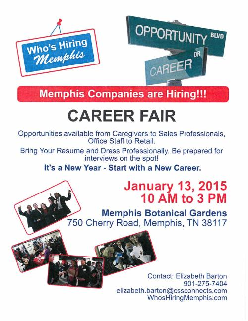Who's Hiring Memphis Job Fair 1-13-15_1