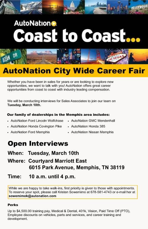 AutoNation City Wide Job Fair-Memphis 3-10-15_1