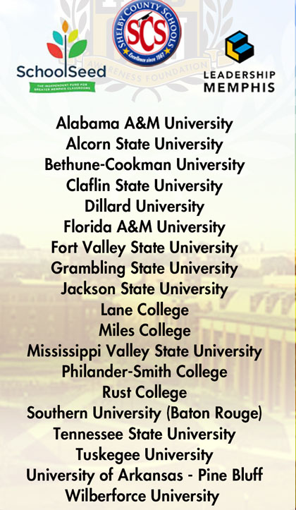 HBCU College Fair Tour Mar 3-6 2