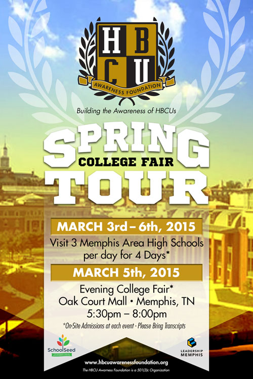 HBCU College Fair Tour Mar 3-6
