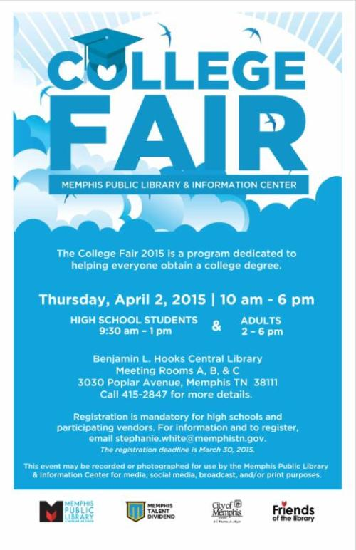 College Fair April 2015