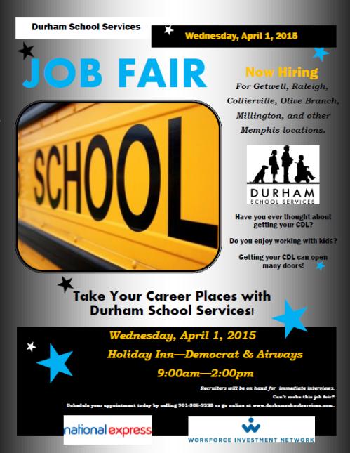 Durham Job Fair - April 1