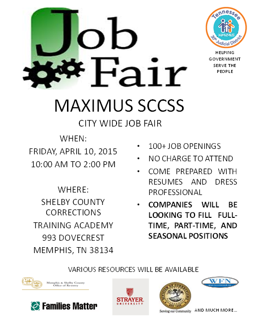Maximus Job Fair 4-10-15