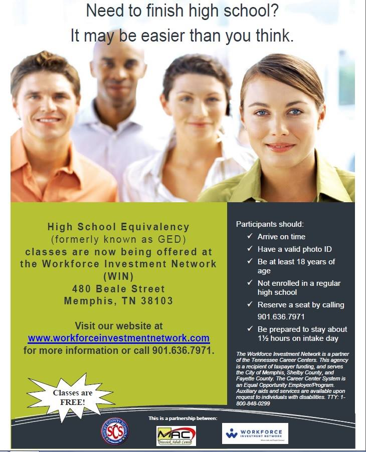 hse  formerly ged  classes   win  u2013 intake 4  10  15