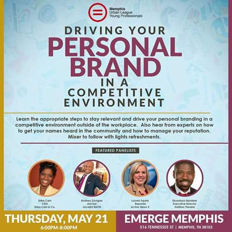 Driving your personal brand 5-21-15