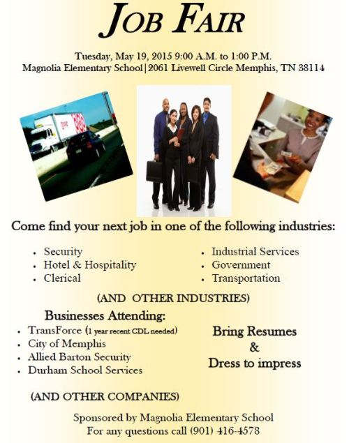 Magnolia Job Fair 5-19-15