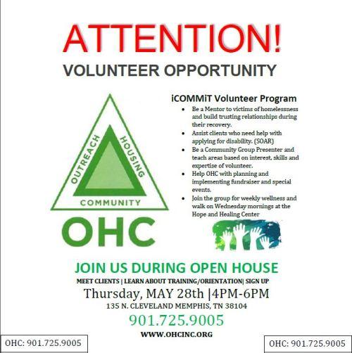OHC Volunteer