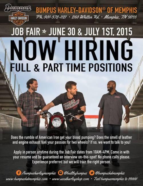 Bumpus Harley Job Fair