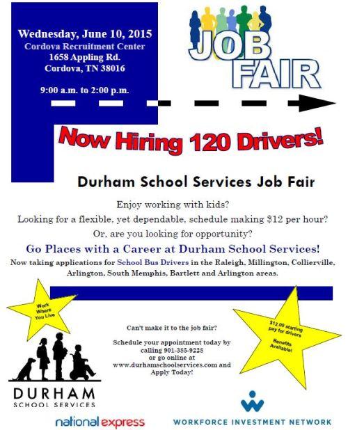 Durham Job Fair 6-10-15