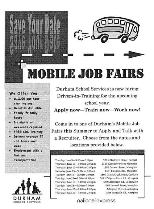 Durham Mobile Job Fairs
