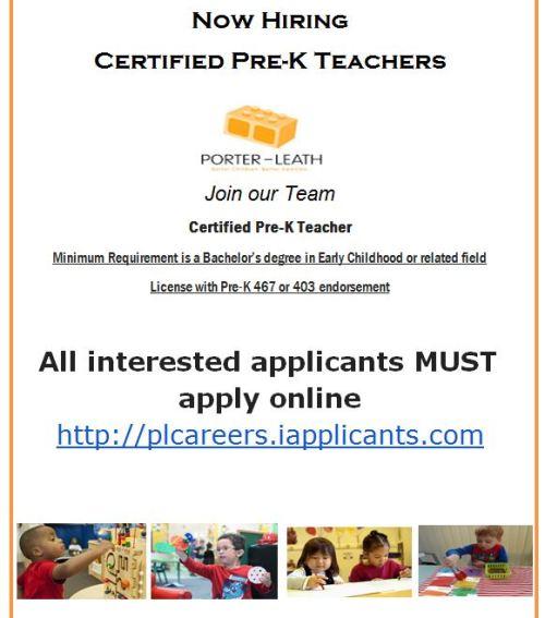 Porter Leath Teachers