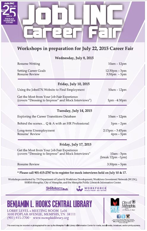 Career Fair Workshops