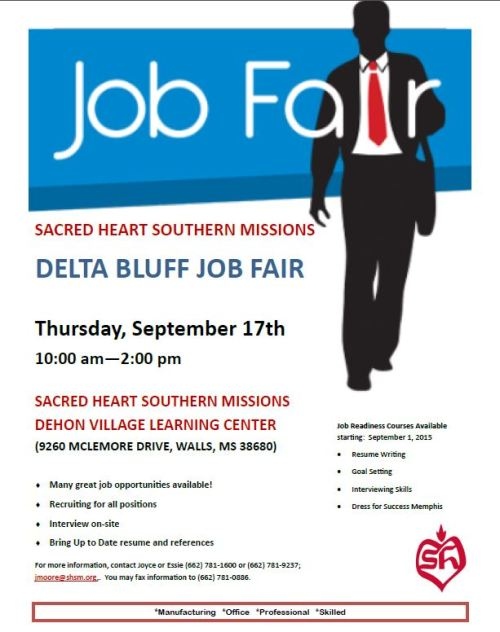 Delta Bluff Job Fair 9-17-15