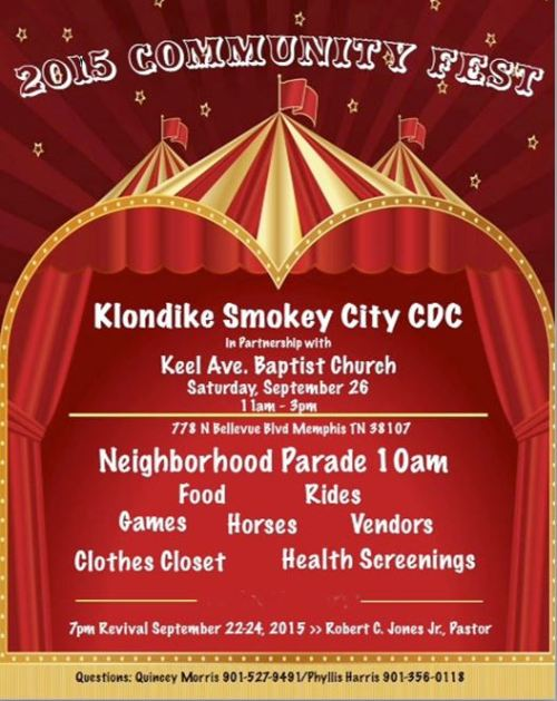 Klondike Community Fest 9-26-15