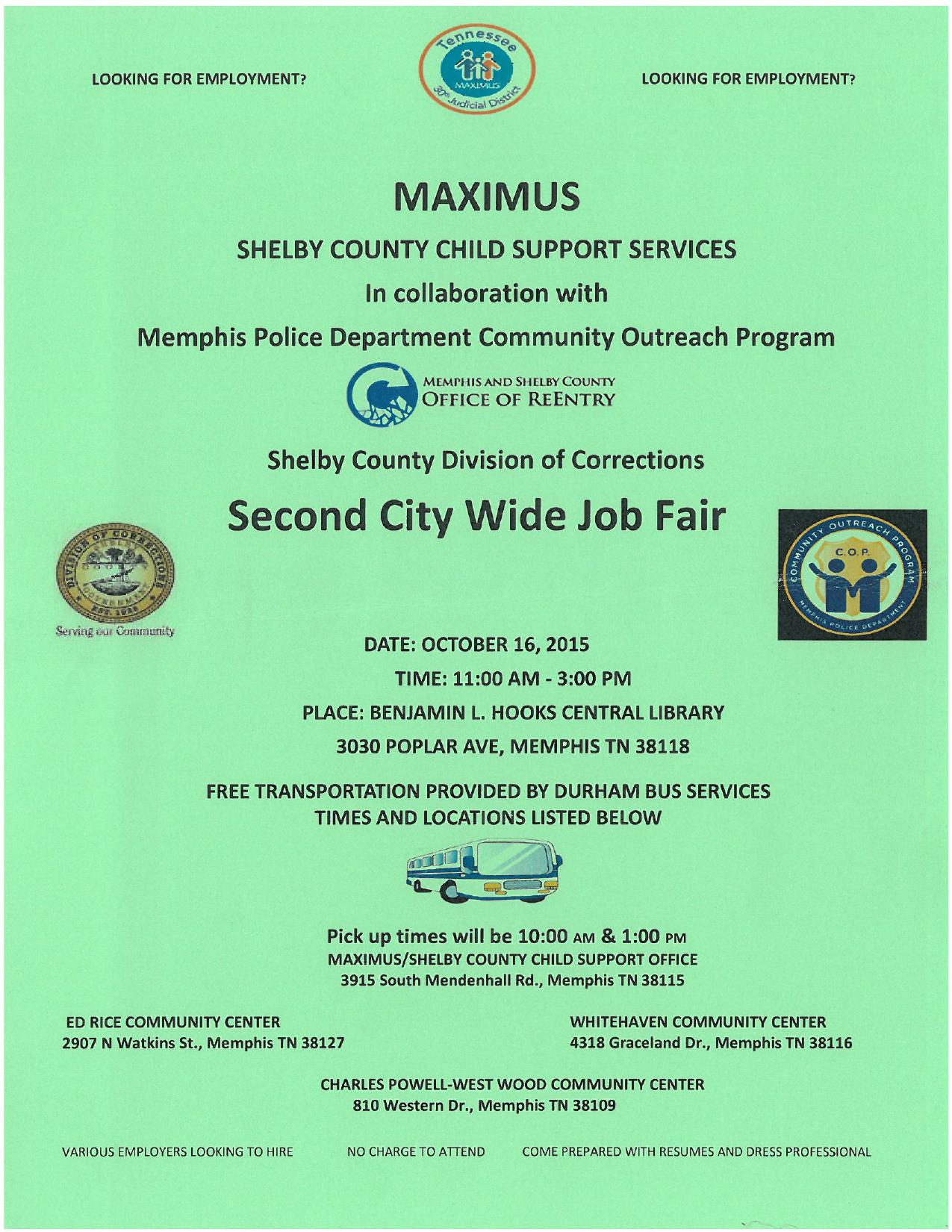 Maximus Job Fair at Central 10-16_1