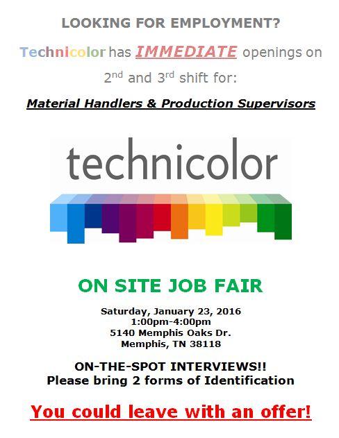 Technicolor 1-23-16