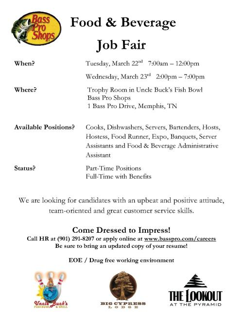 Job Fair- Bass Pro Shop_1