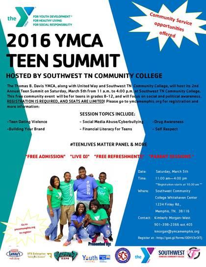 YMCA teen summit
