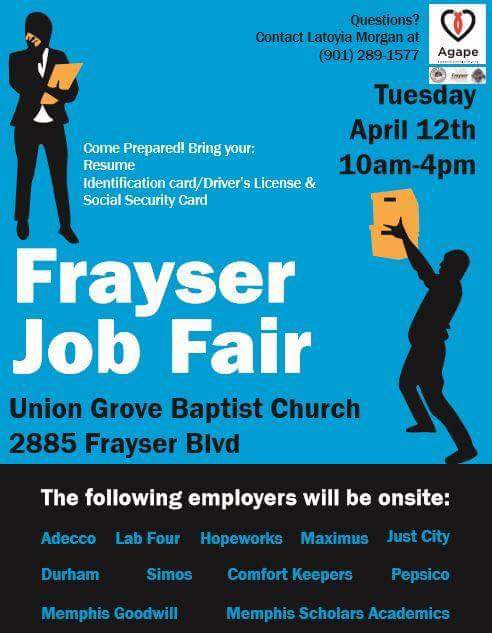 Frayser Job Fair 4-12