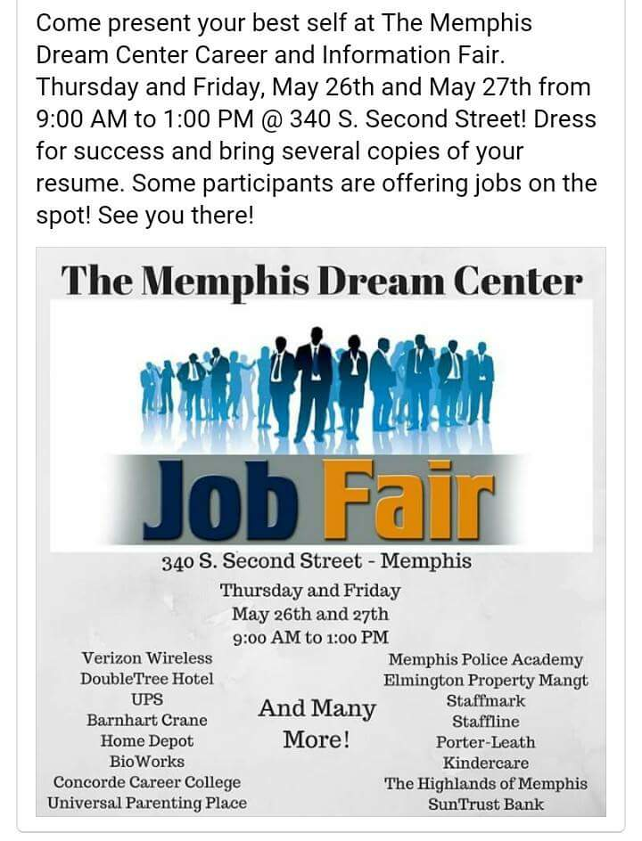 Dream Center Job Fair