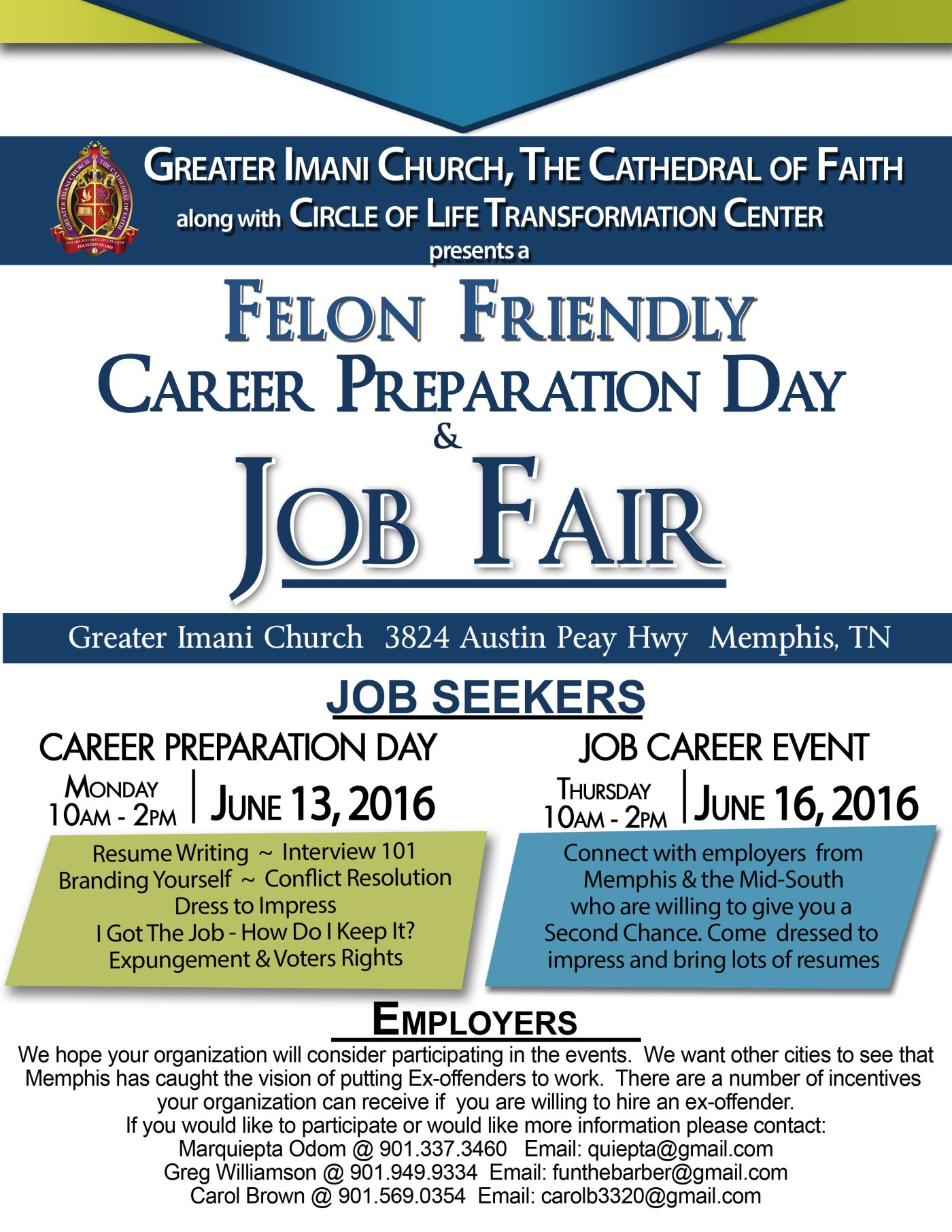 felon friendly job fair day event job career news from the felon friendly job fair 2 day event job career news from the memphis public library