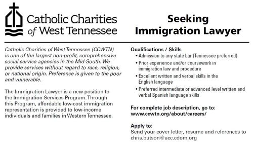 Catholic Charities Lawyer