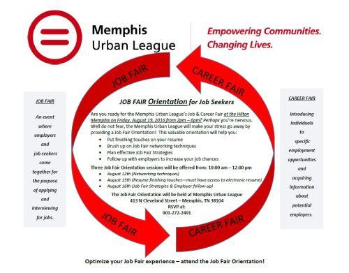 urban league job fair orientation