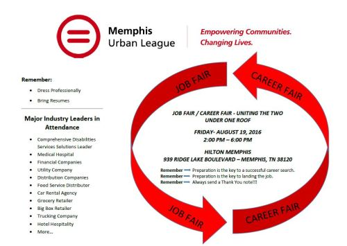 urban league job fair